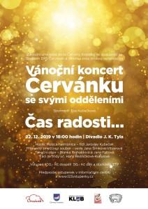 Vánoční koncert pěveckého sboru Červánek
