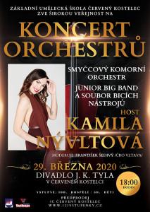 Koncert orchestrů 2020